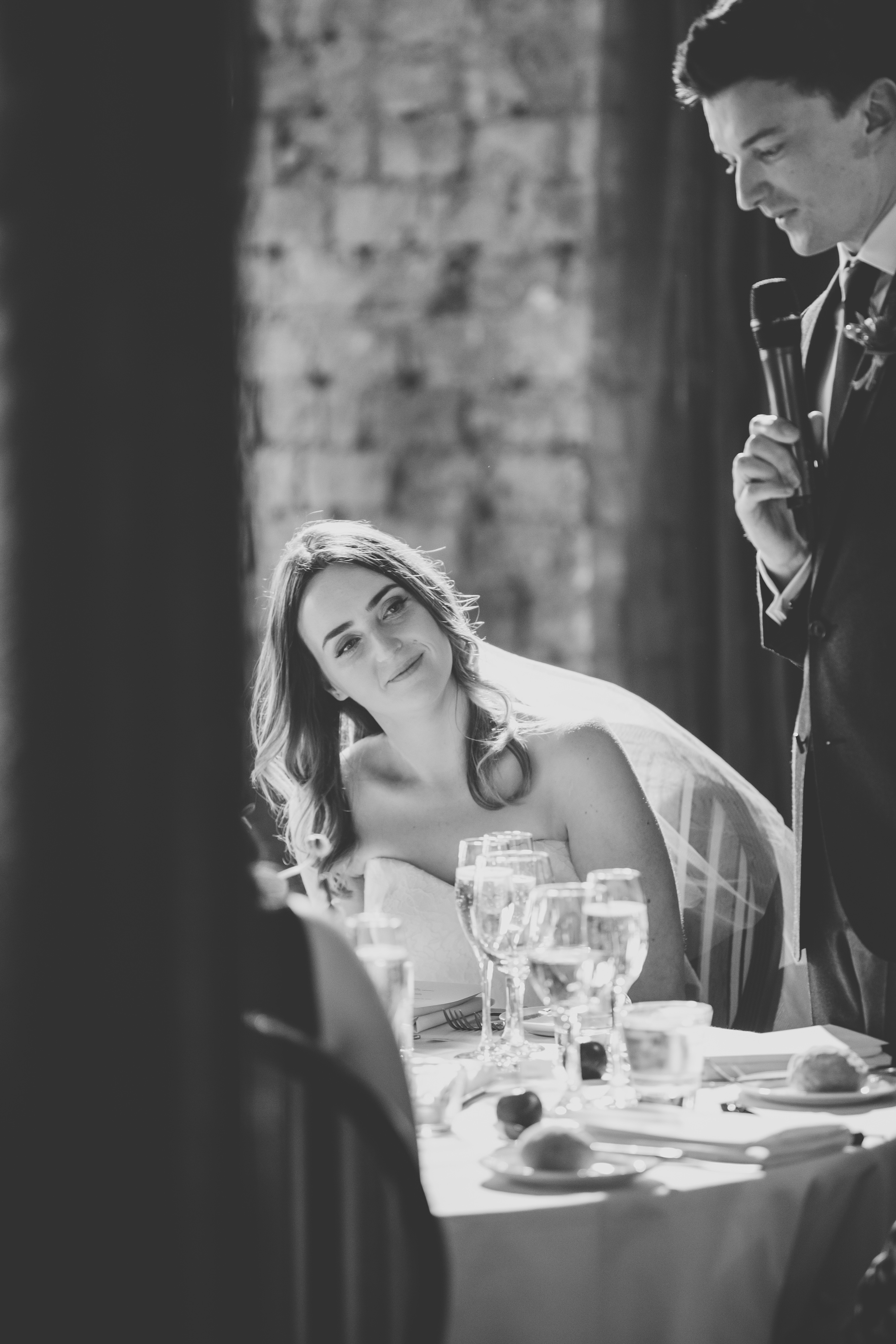 Elaine & Rhodri on thier wedding day. Photo by Mack.Photo