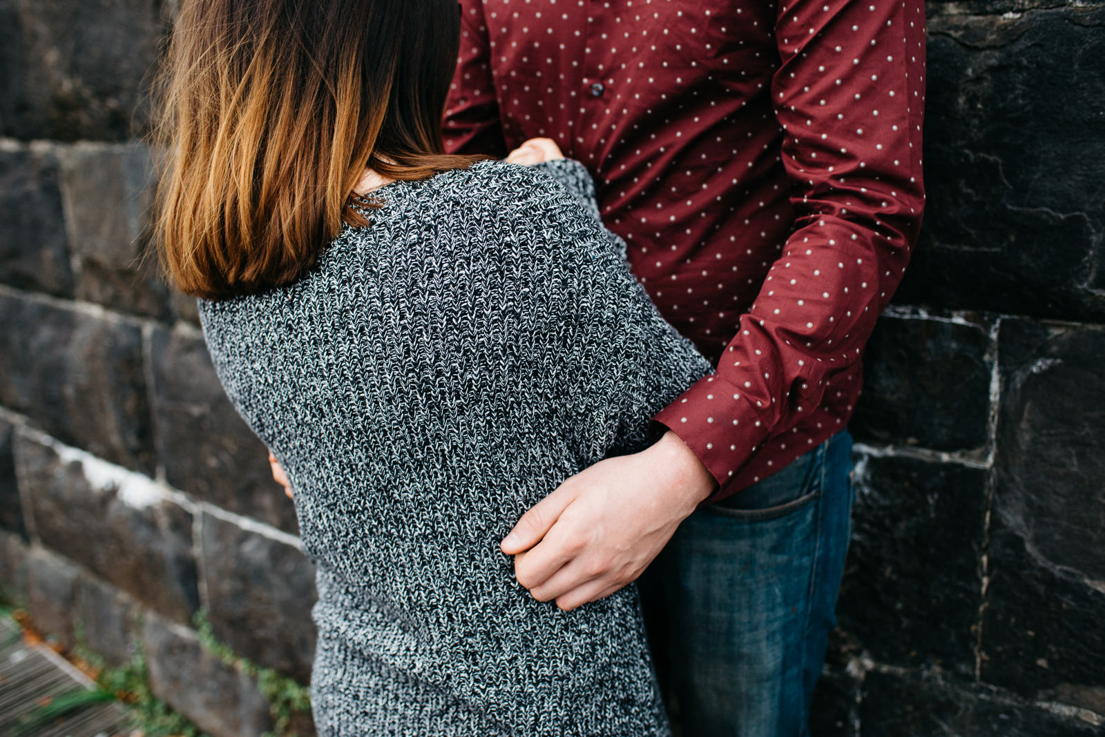 Cardiff bay cwtch engagement // Elaine Williams Photography