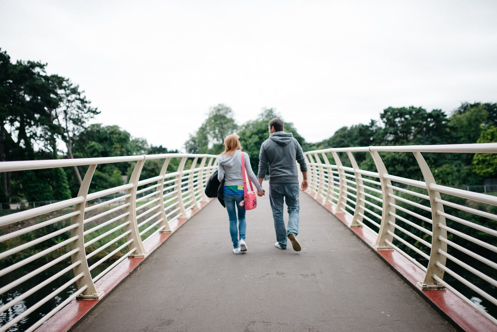Cardiff city park engagement session // Elaine Williams Photography