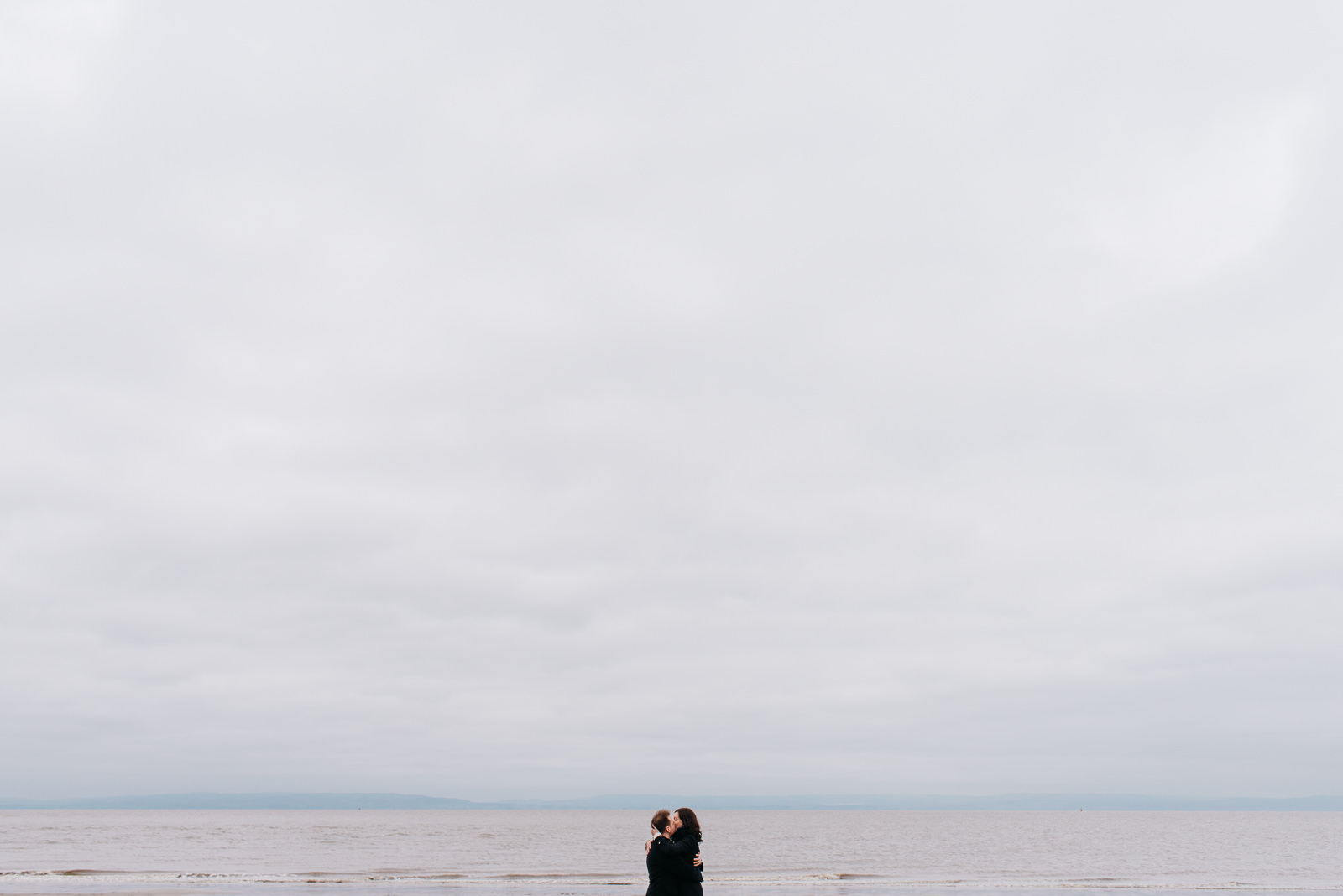 Spring beach engagement shoot in South Wales // Elaine Williams Photography