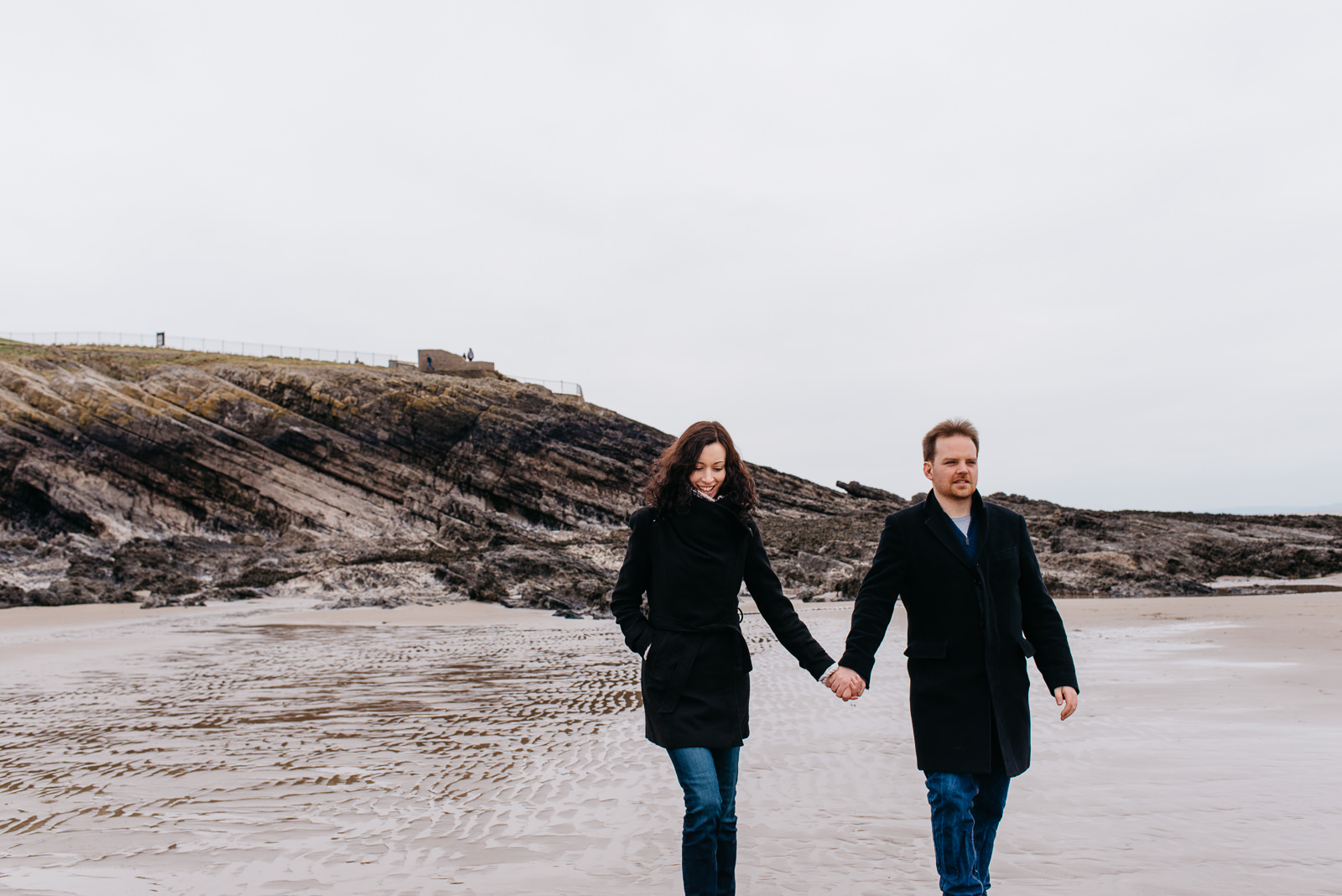 Spring engagement shoot in South Wales // Elaine Williams Photography