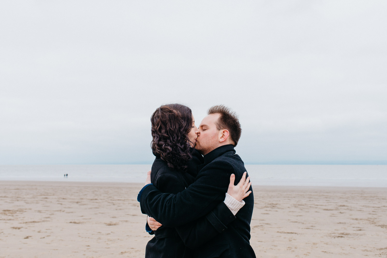 Beach engagement shoot in South Wales // Elaine Williams Photography