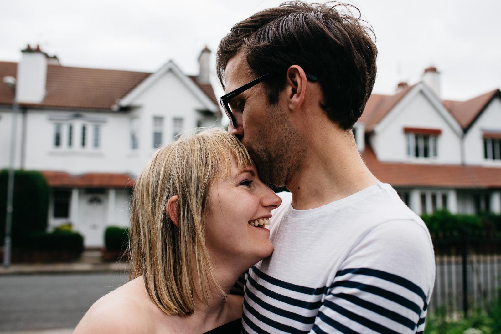 Urban engagement shoot Cardiff   Cardiff engagement photographer // Elaine Williams Photography