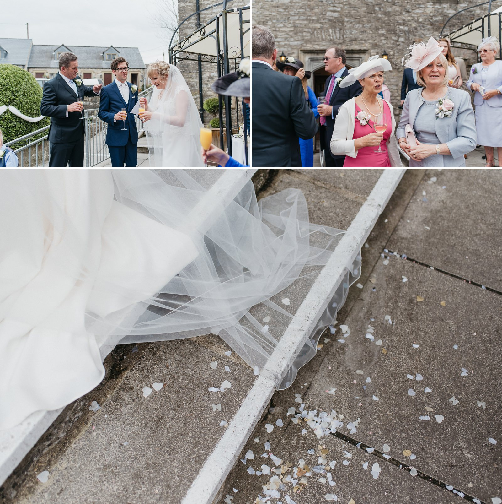 Relaxed wedding Bridgend at the Great House Hotel, Laleston