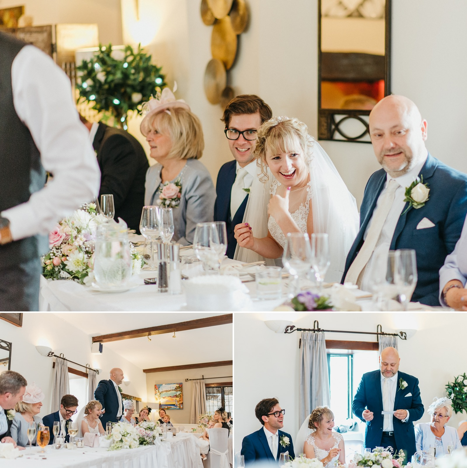 Speeches at Bridgend wedding - The Great House Hotel, Laleston