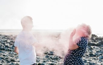 Powder Paint Alternative Engagement Session | Tara & Rob