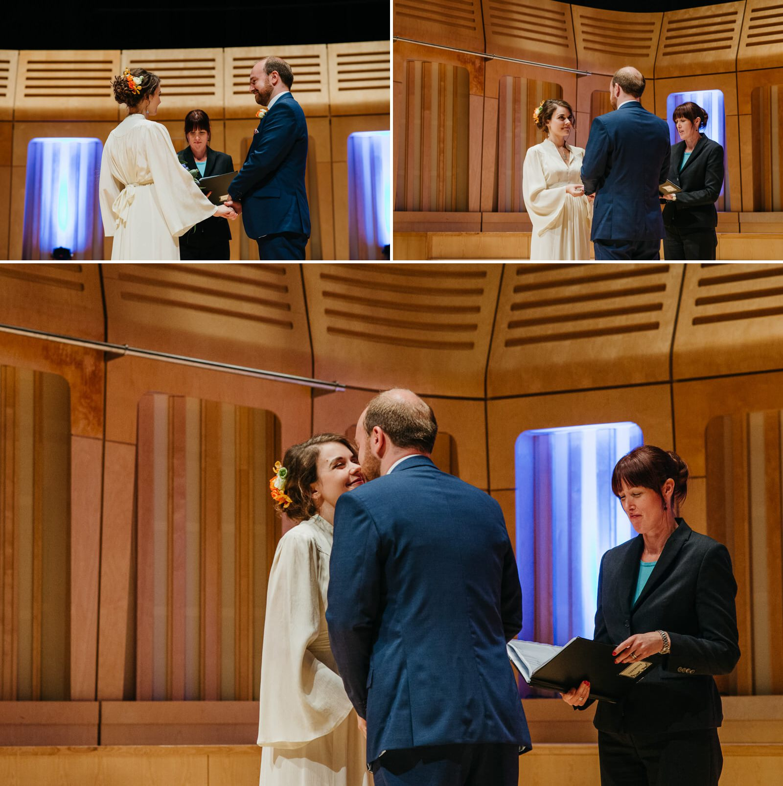 Modern Royal Welsh College Of Music And Drama Wedding