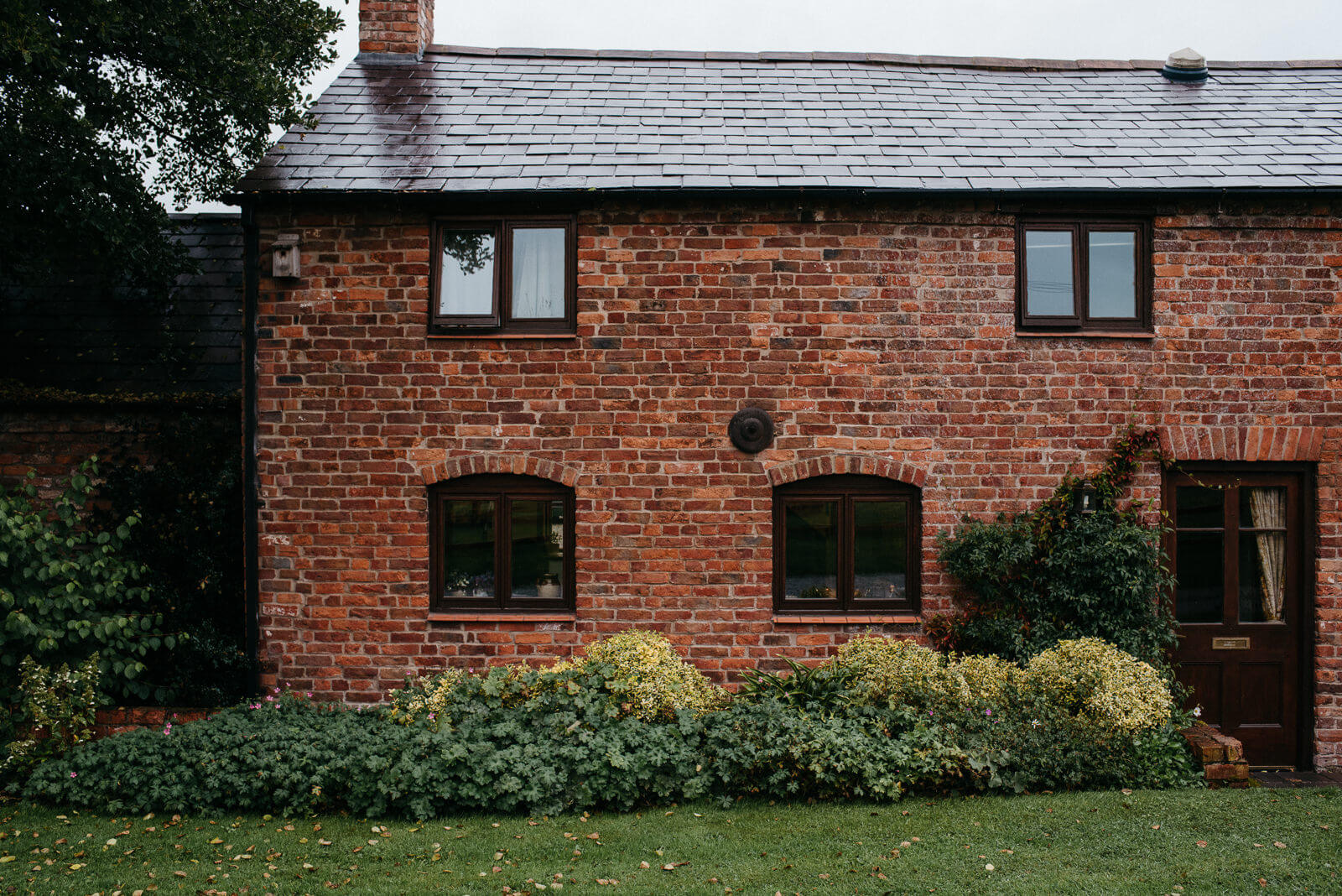 Family home of bride in Shropshire