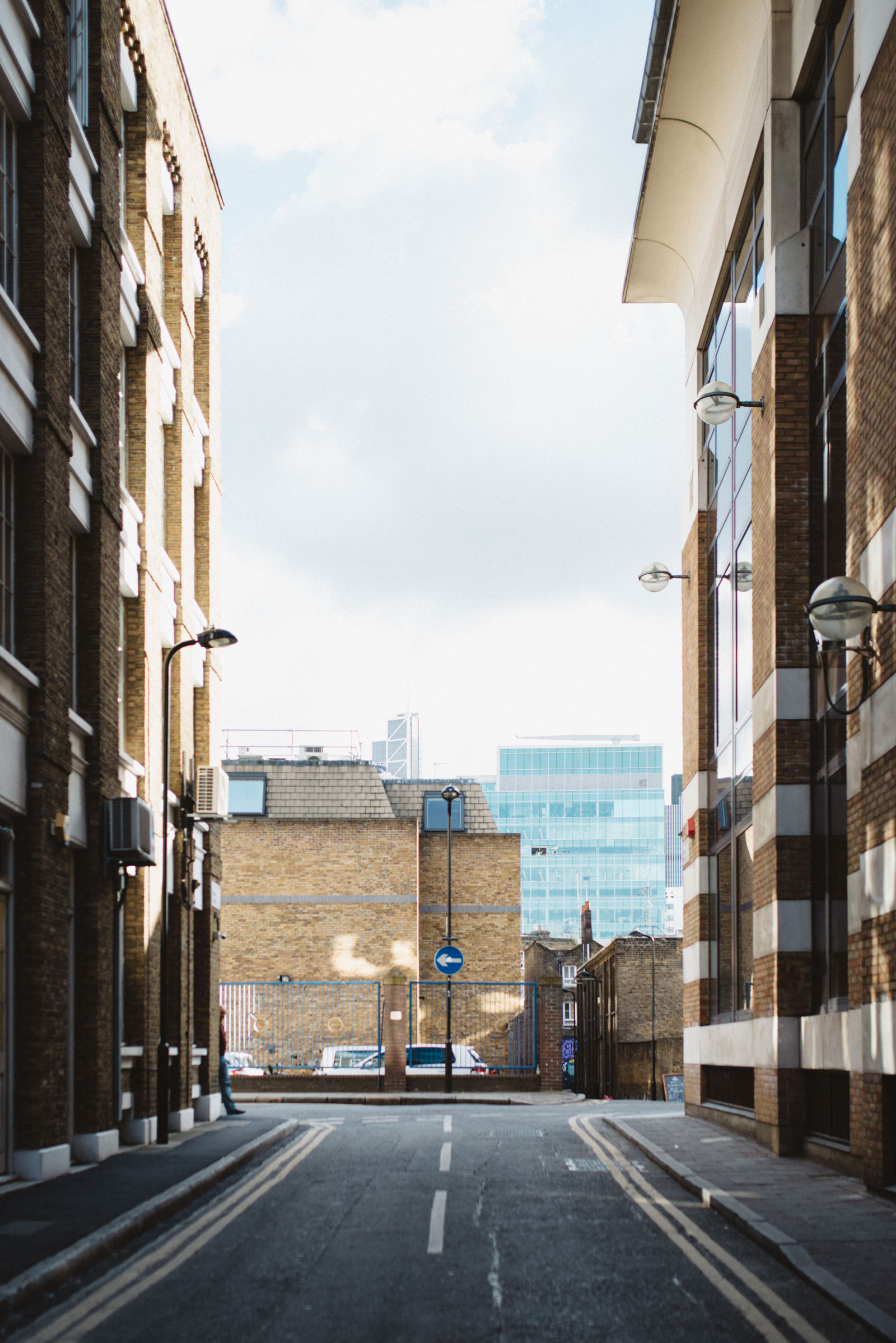 Ravey Street in Shoreditch, in the East end of London