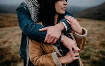 Adventurous South Wales Engagement at Brecon Beacons | Beth An + Drew