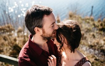 Llyn Llech Owain, Carmarthen Couple shoot | Ronan + Katie