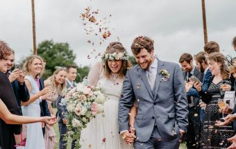 Relaxed Festival Tipi Wedding in Shropshire | Abel & Paul