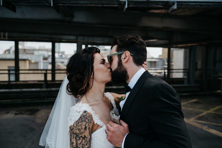 Modern, Intimate Cardiff Registry Office Wedding / Bethan & Drew