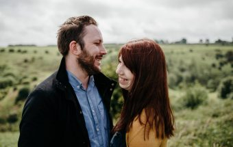 Relaxed couple shoot in Somerset / Sophie + Lloyd