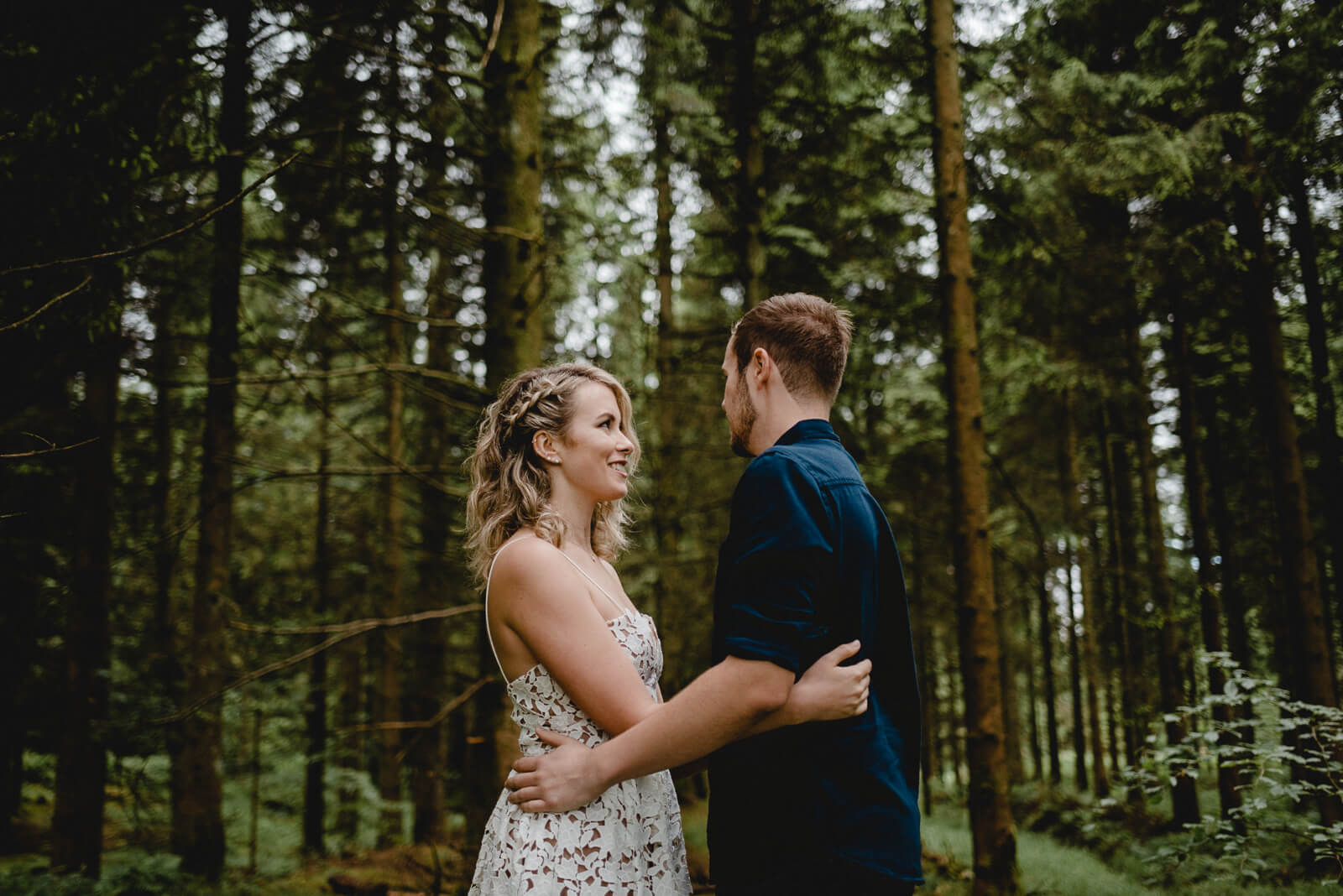 bride and groom by Somerset and Bristol wedding photographer