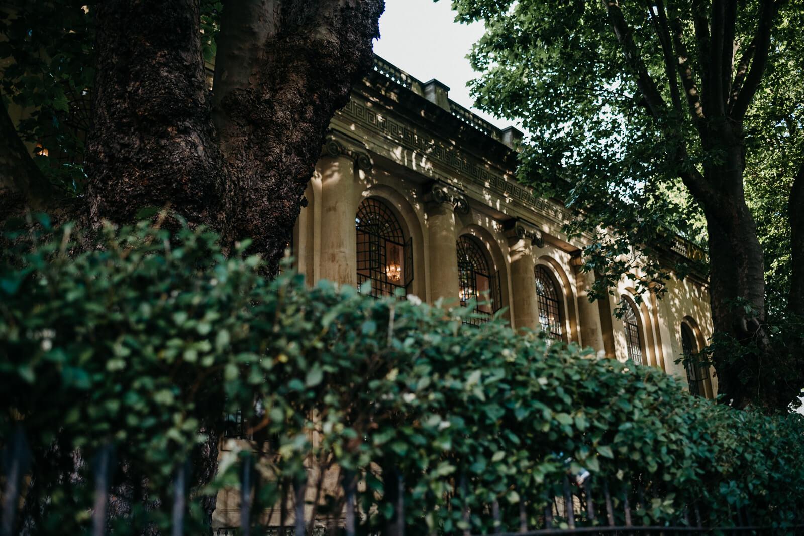 The decadent and stylish exterior of Marylebone One, London