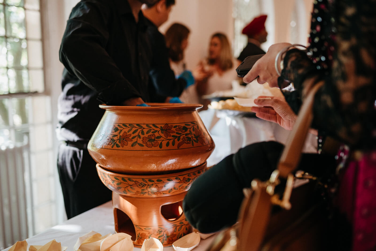 details at Indian fusion london wedding at Marylebone One