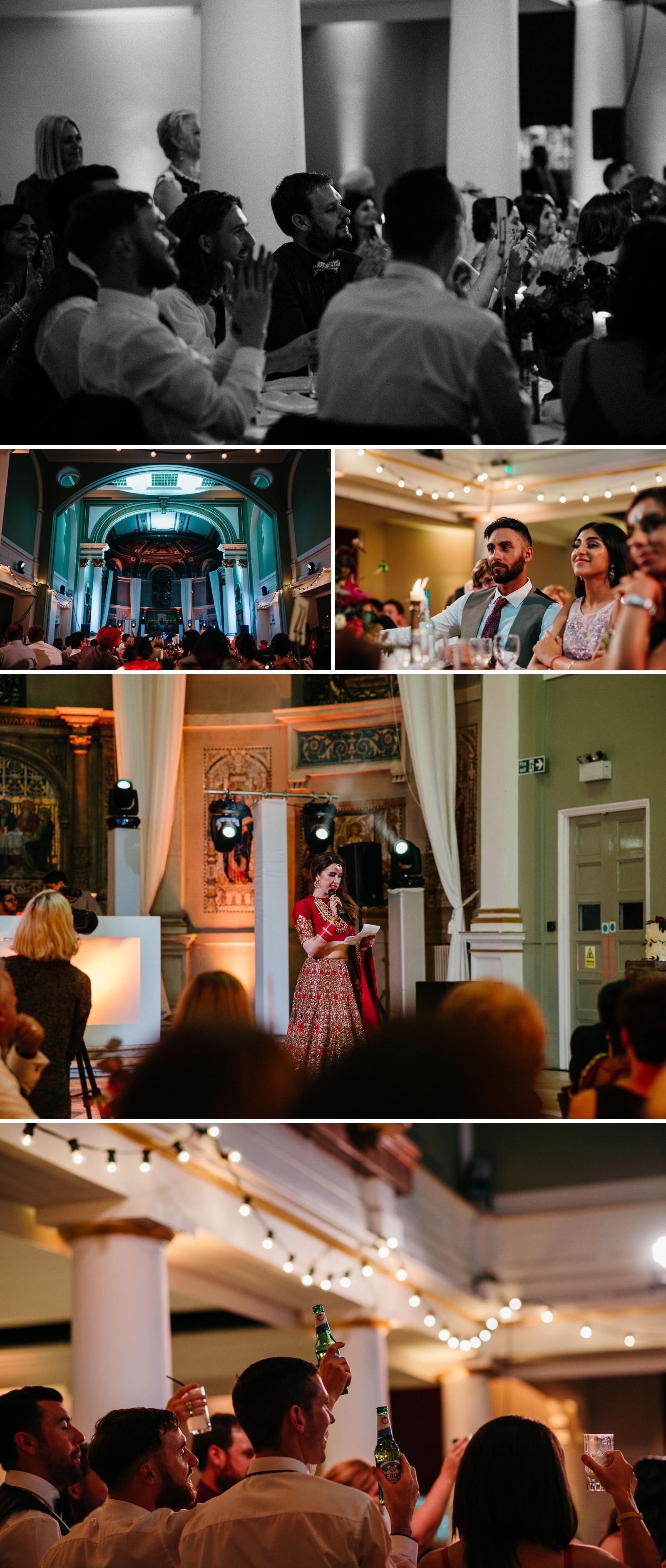 speeches at Marylebone One Wedding