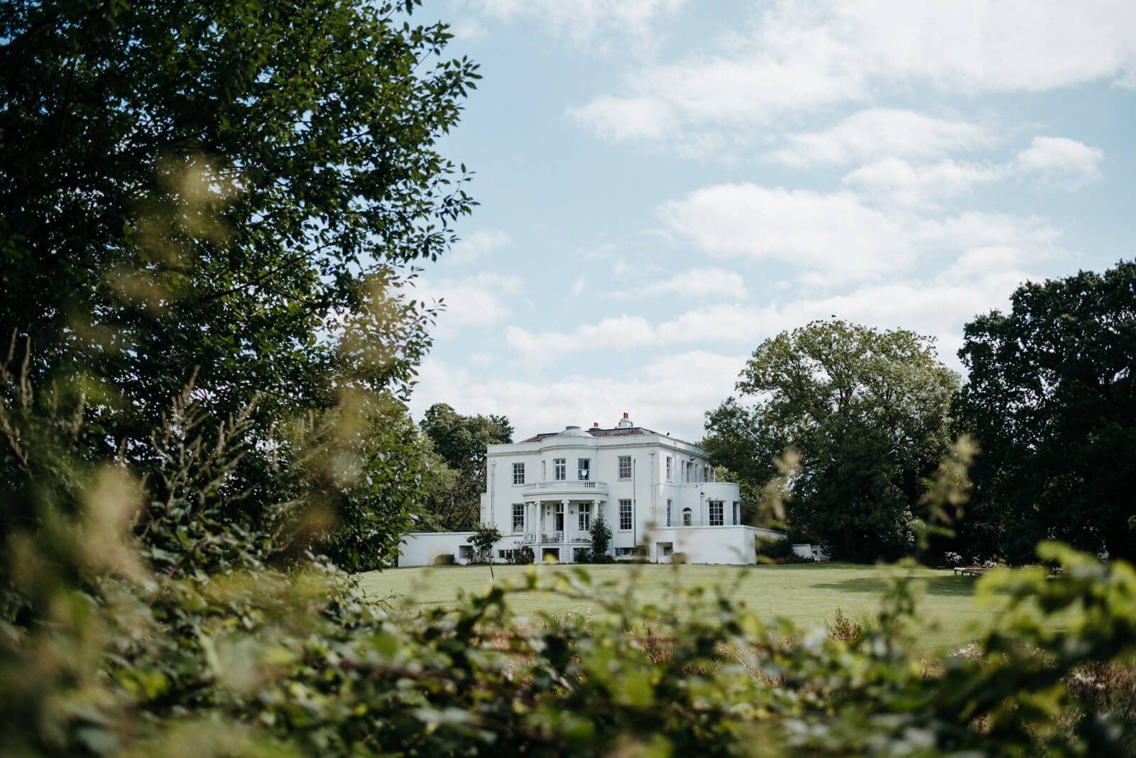 Belair House wedding venue in West Dulwich, London
