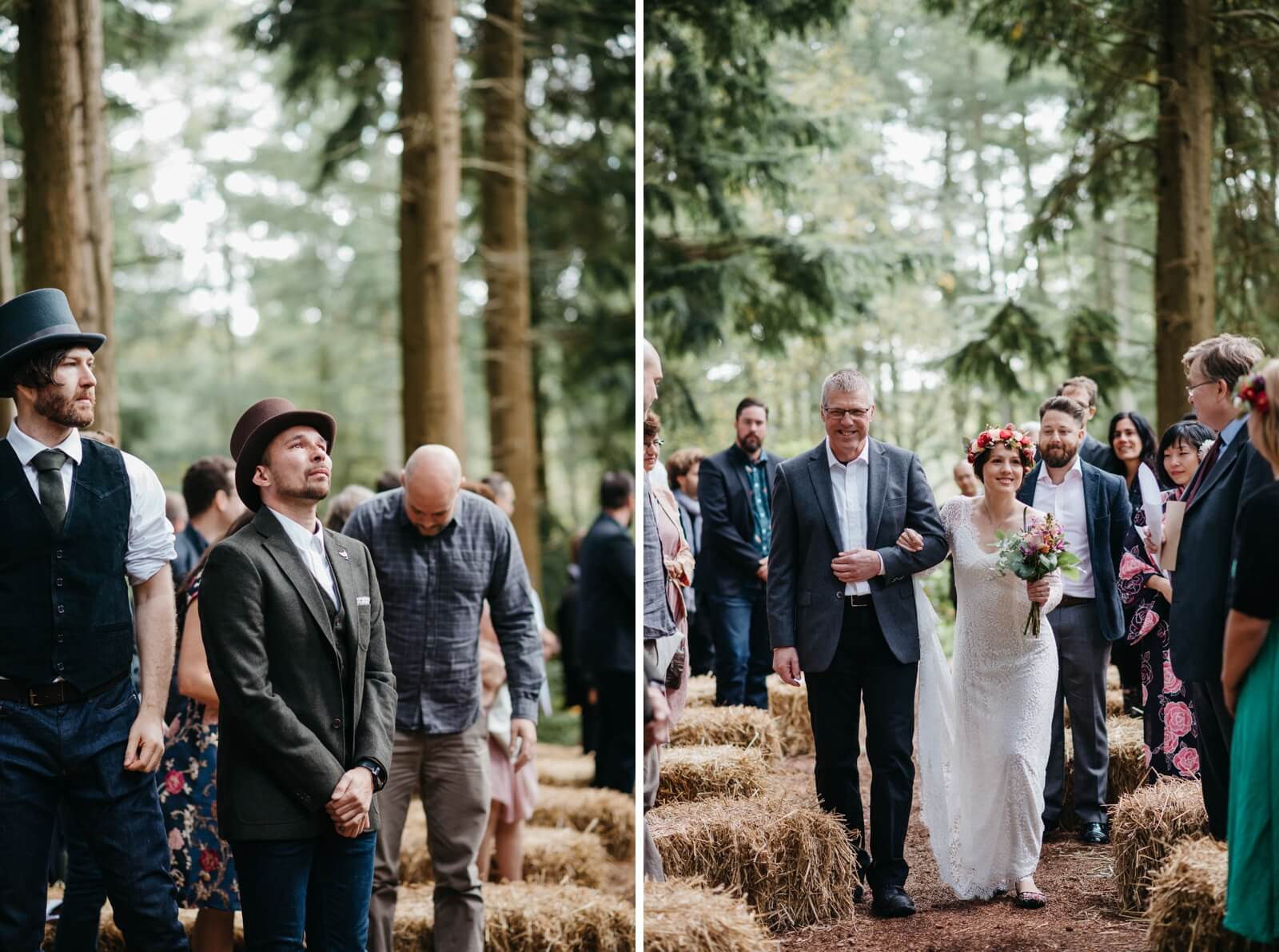 Woodland Wedding In The New Forest Elaine Williams