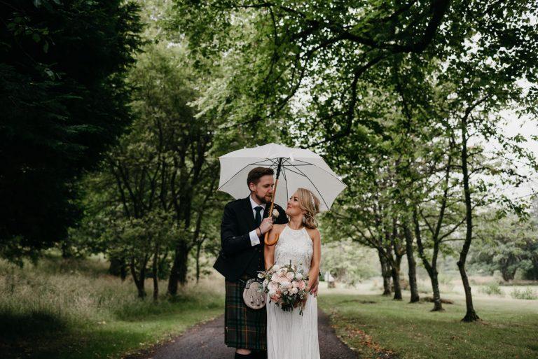 Culcreuch Castle Wedding / Laurie & Michael