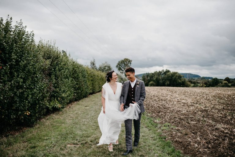 Manor Farm Glamping Wedding in Worcestershire / Tianne & Carina