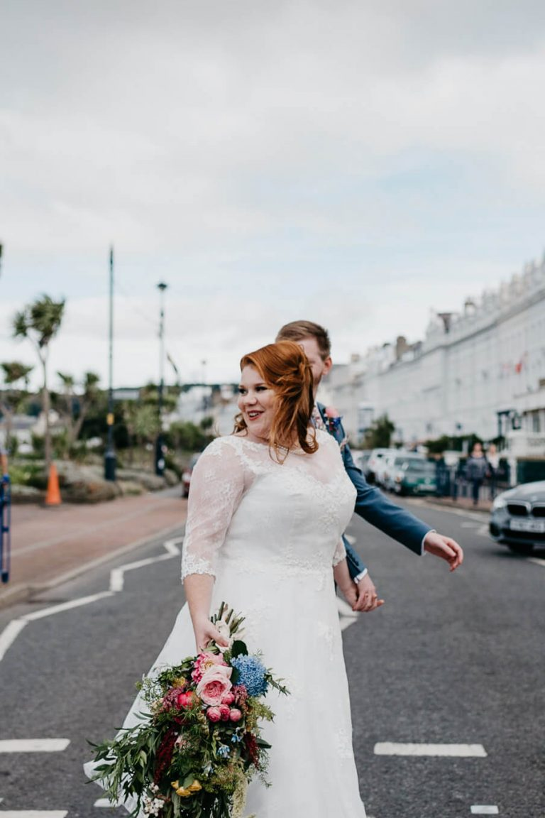 Summer Seafront Wedding in Wales / Natalie & Michael