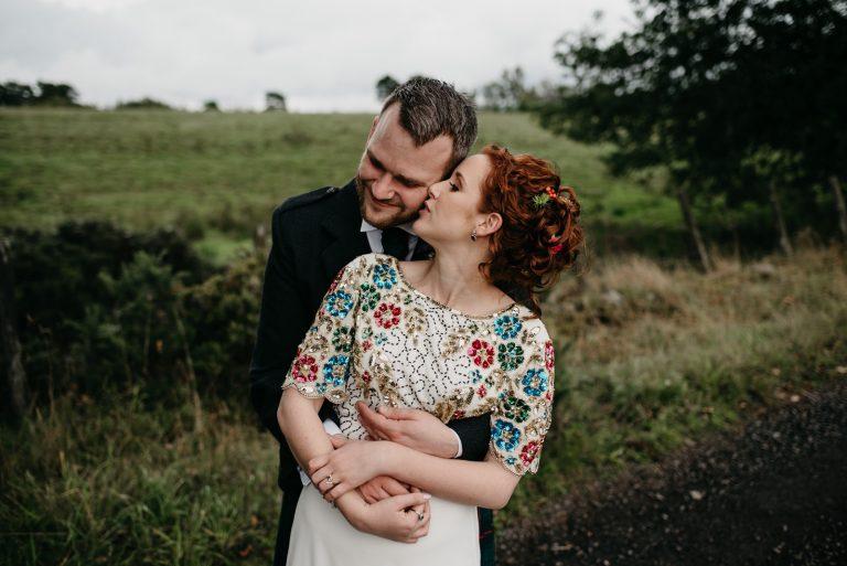 A Relaxed and Colourful Farm Wedding, Dunblane / Sarah & Eliot