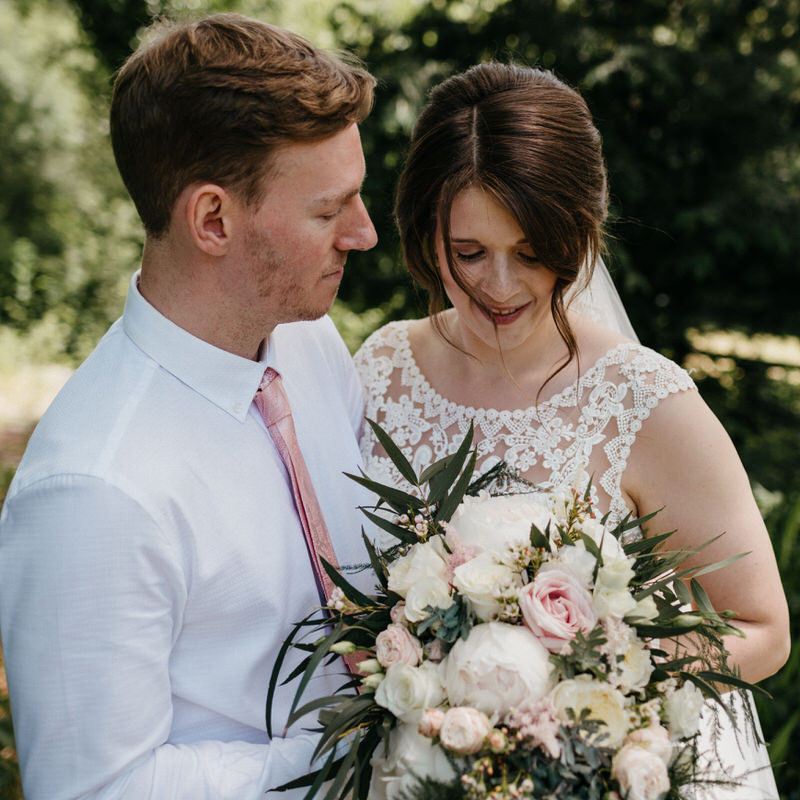 Photograph of Fiona & Dan at Broadway Country House